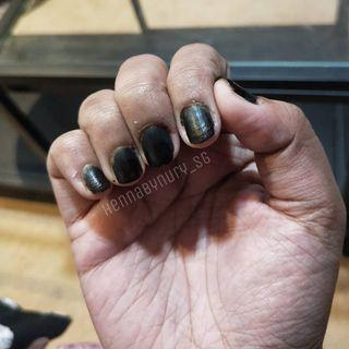 🚚 Black Nail Henna