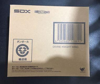 已開 SDX 神聖騎士 Wing 齊件連啡盒