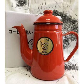 🌟現貨🌟7月優惠🌟[日本製]卡利塔 Kalita 陶瓷珐琅瓷长嘴细口壶 咖啡达人 1L