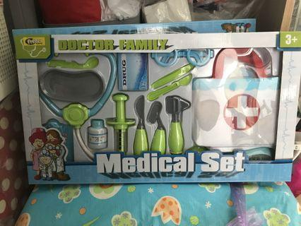 Doctor Family Medical Set 醫生套裝