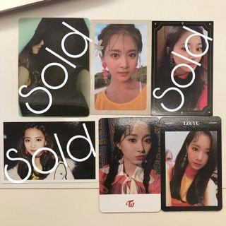 WTS TWICE Tzuyu photocards