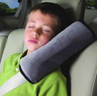 Car Seat Belt Pillow Shoulder Strap Pad Cushion Head Support Kids