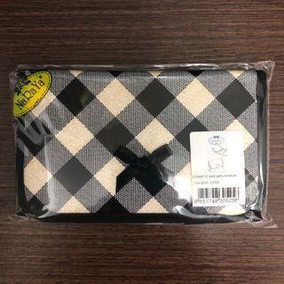 NaRaYa Cosmetic Bag With Mirror 化妝袋連鏡