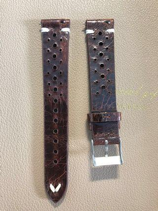 Gorgeous 18mm Leather Rally Strap