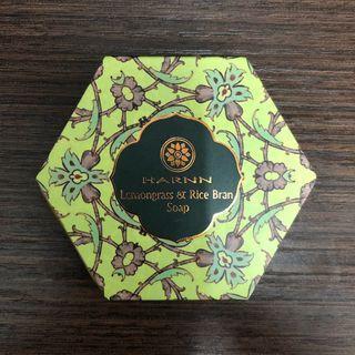 Harnn Lemongrass & Rice Bran Soap 檸檬草精油皂