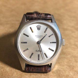 Rare 18K WG Rolex Cellini 26mm watch