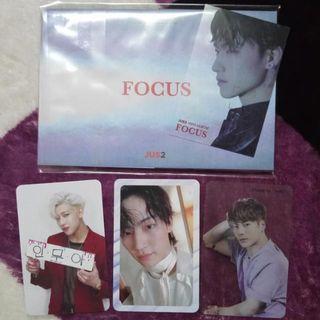 WTS/WTT GOT7 Jus2 Photocards, Sticker