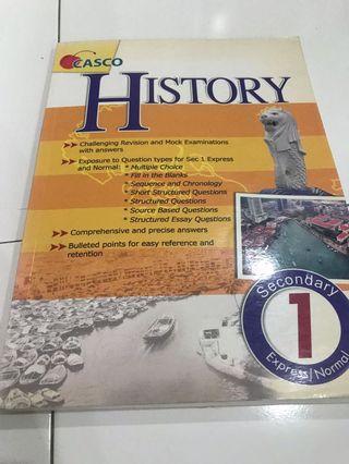 🚚 Sec 1 History Assessment book