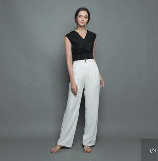 🚚 Soigne the Label Straight Cut Pants White