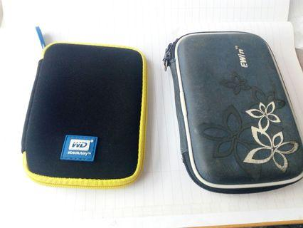 2 pouch for extenal HDD & pendrive