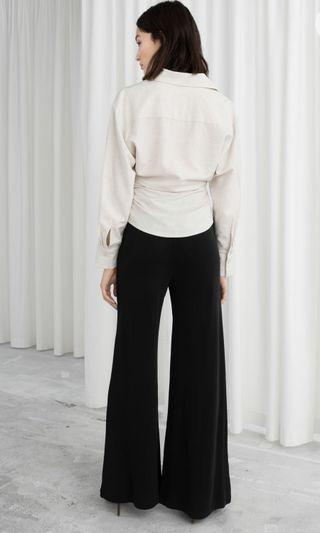 & other stories wide leg pants