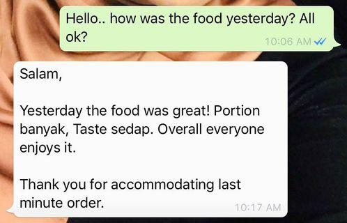Customer review part 3