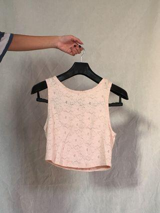 top soft pink forever 21