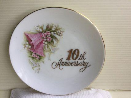 PM Plate: 10th Anniversary (UL18)