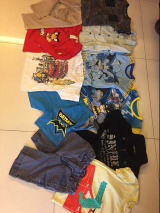 Set boys clothes for just RM25