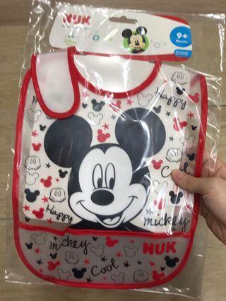 代購 NUK 迪士尼 米奇 口水肩 (9個月以上嬰兒適用)