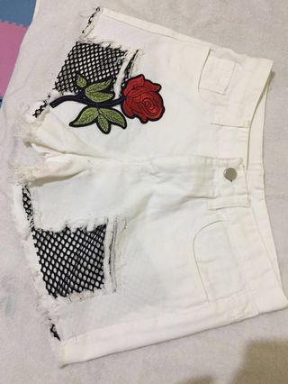 [SALE] White Hotpants