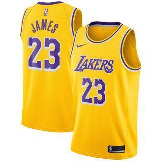 Leborn James NIKE Lakers Jersey洛杉磯湖人 M Size