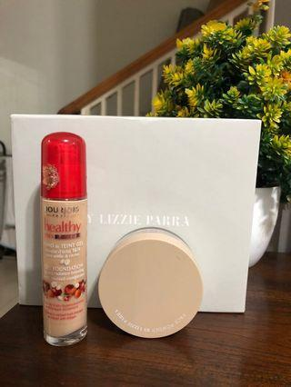 BLP Powder Light Beige & Bourjois Healthy Mix Serum 52