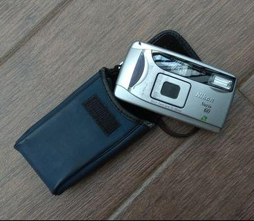Vintage Nikon Nuvis 60 APS Point and Shoot Camera