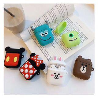 3D Characters AirPods Casing