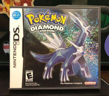 [NDS] Pokémon Diamond - US VERSION (美版)