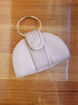 Sabo Skirt nude mini bag