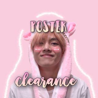 poster clearance!!🌸