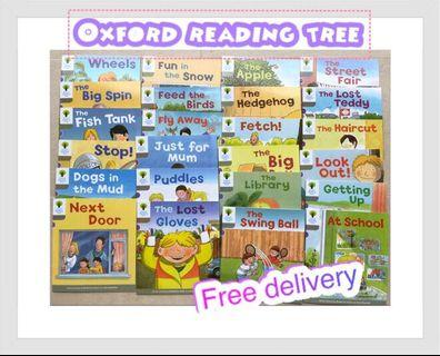 BN Oxford reading tree 1-2 for school use