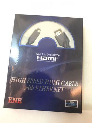 ENE 2米HDMI線