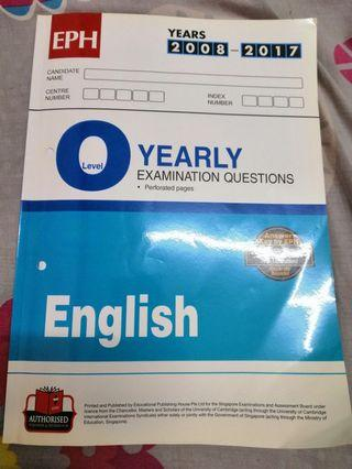 🚚 O level English TYS