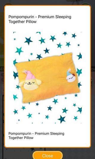 ***BN*** Pompompurin and friend Big Pillow