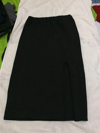[SALE] Black Stretch Skirt