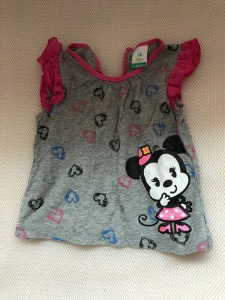 🚚 Preloved Disney Minnie Mouse Top