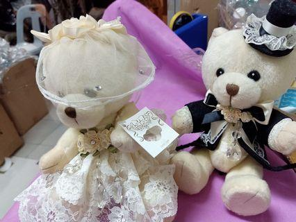 Wedding decoration a pair of bear