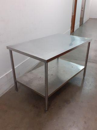 125cm Stainless steel table FREE DELIVERY