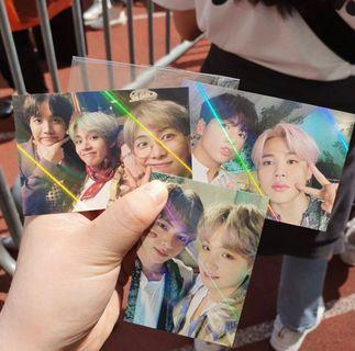 5th Muster Ticket Holder Photocard