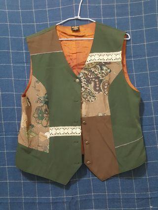 🚚 [剩屋] 古著 特殊造型馬甲外套