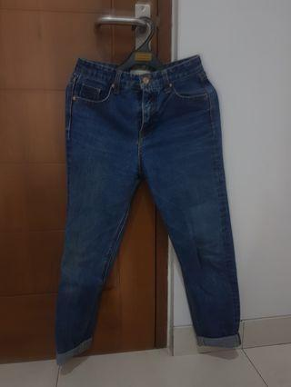 Mom jeans stradivarius