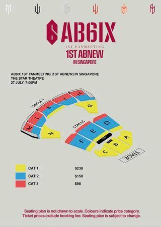 🚚 (LF/WTB)ab6ix tickets