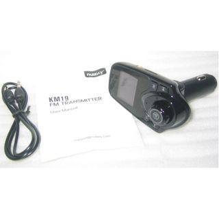 Nulaxy KM19 (same as T11) Bluetooth FM Transmitter . Car socket use . listen spotify