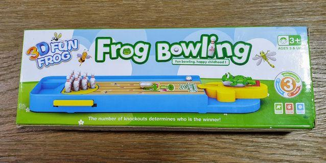 Frog Bowling Toy