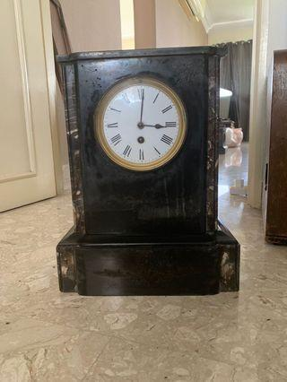 Vintage Clock solid marble
