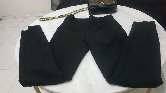 Celana hitam brand zara ori