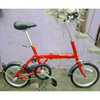BS SNEAKER ALLOY FOLDING BIKE (FREE DELIVERY AND NEGOTIABLE!)