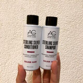 🚚 (現貨)AG 洗護銀光 銀光洗髮精/銀光護髮乳 59ml