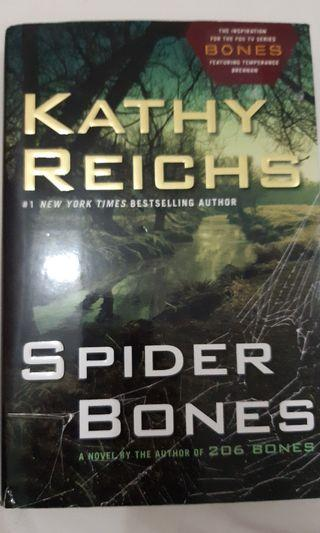 Spider bones and bones of the lost by kathy reichs