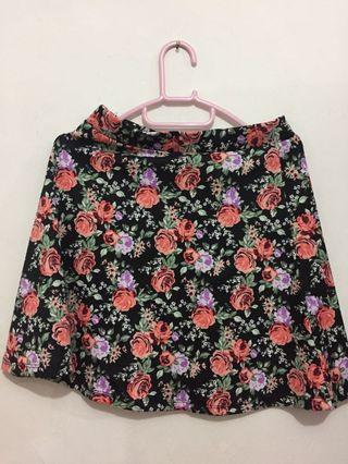 Floral Skirt by H&M