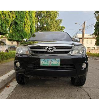 Toyota Fortuner 2008 G Gas Automatic