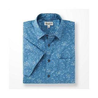 二手 優衣庫 UNIQLO X  IOLANI HAWAIIAN CLASSICS 聯名 夏威夷襯衫 M號